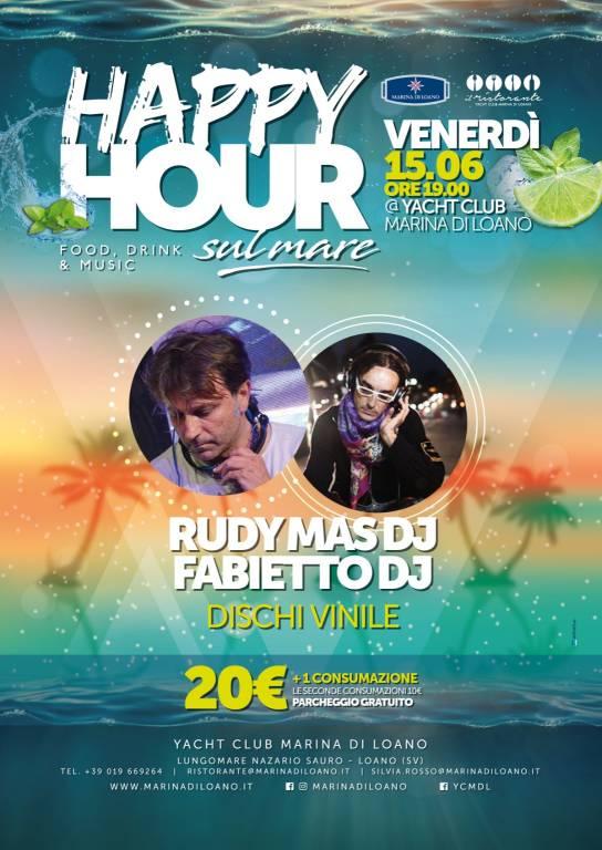 Happy Hour sul Mare dj Rudy Mas Fabietto