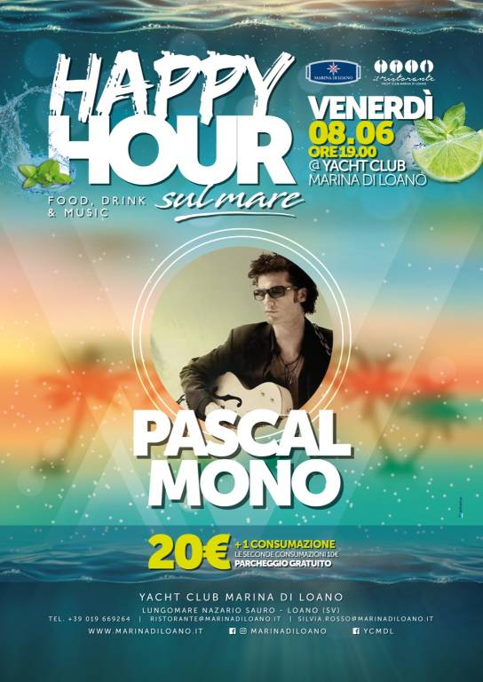 """Happy Hour sul Mare"" Pascal Mono"