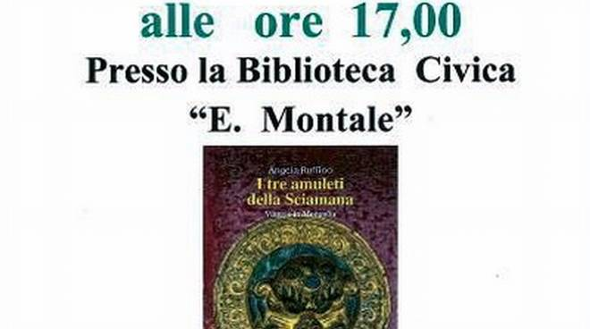 """""""I tre amuleti della Sciamana"""" libro Angela Ruffino"""