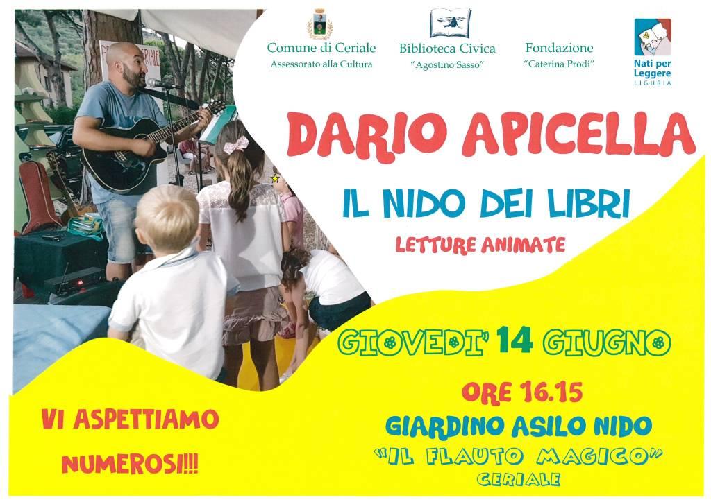 """""""Il Nido dei Libri"""" scrittore per bambini Dario Apicella"""