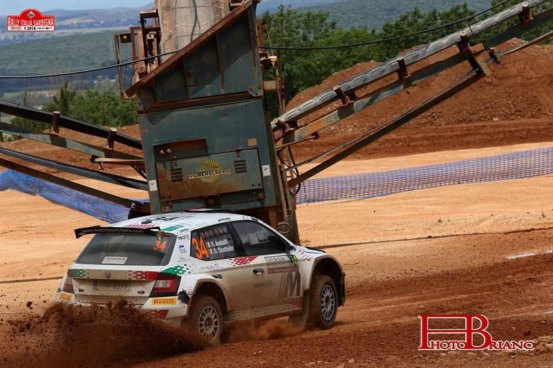 Il Rally Italia Sardegna con Fabio Andolfi