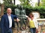 Ilaria Cavo nella città del Muretto per Enzo Canepa