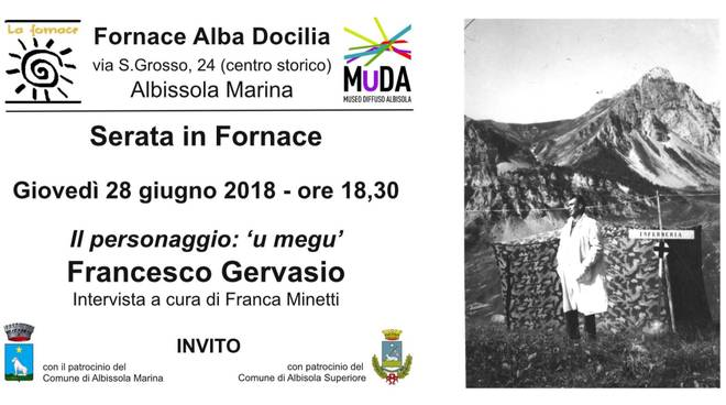 Incontro medici Franco Gervasio Fornace Albissola Marina