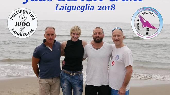 judo beach camp 2018