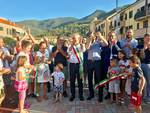 L'inaugurazione di piazza Falcone e Borsellino ad Albenga