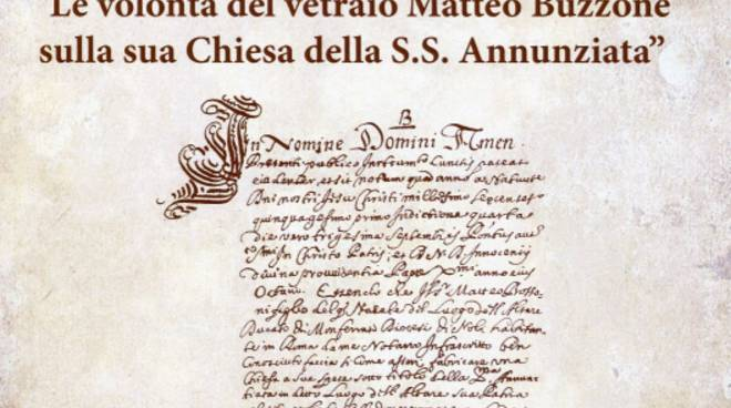 Libro Matteo Buzzone Chiesa Santissima Annunziata Altare