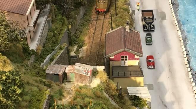 """""""Mallare, stazione di Mallare"""" mostra modellismo ferroviario"""
