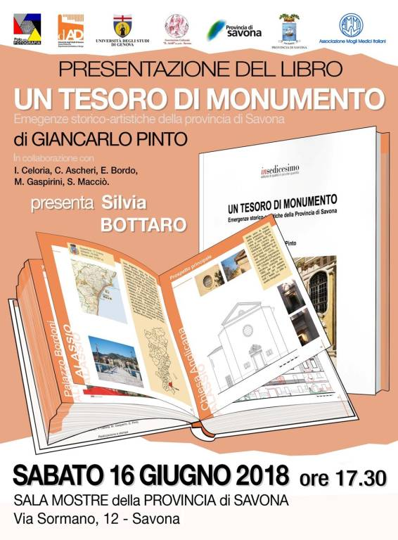 """Presentazione libro """"Un tesoro di monumento"""""""