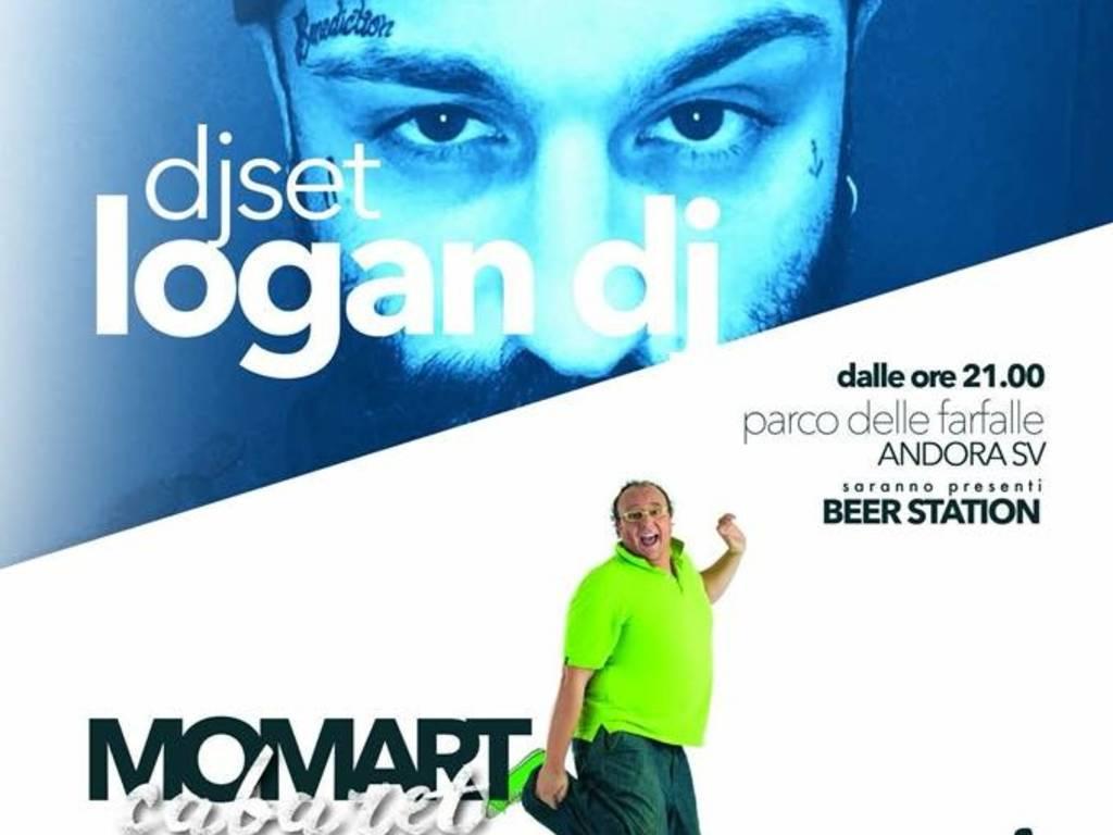"""""""MoMart Cabaret"""" comicità musica Andora"""