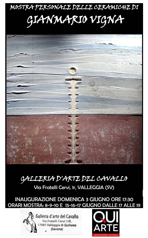Mostra ceramiche Gianmario Vigna