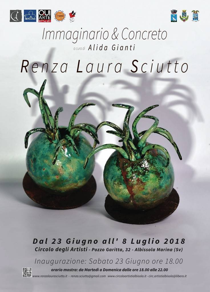 Mostra ceramiche Renza Laura Sciutto Circolo degli Artisti