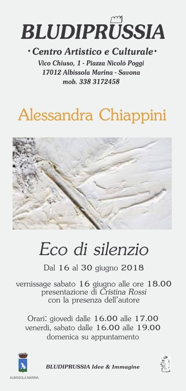 "Mostra d'arte ""Eco di silenzio"" Bludiprussia Albissola Marina"