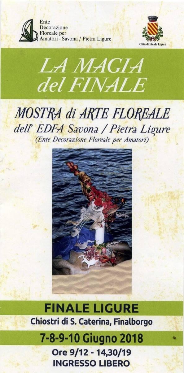 "Mostra d'arte floreale ""La magia del Finale"""