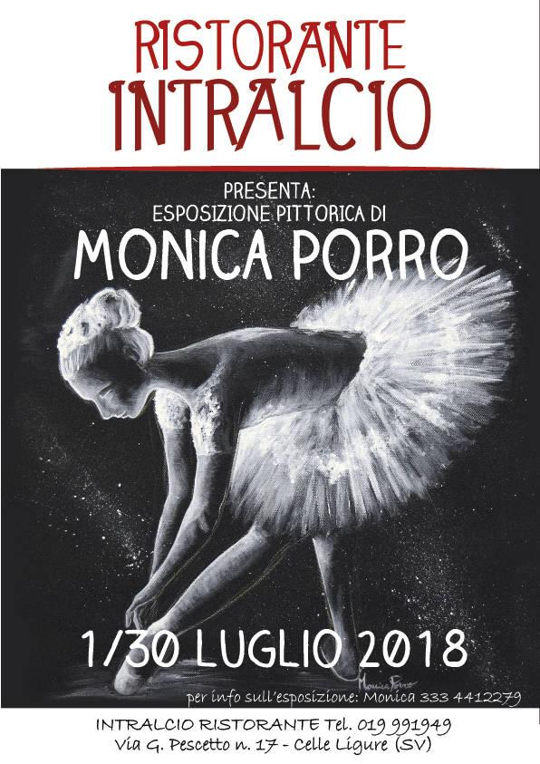 Mostra d'arte quadri pittrice valbormidese Monica Porro