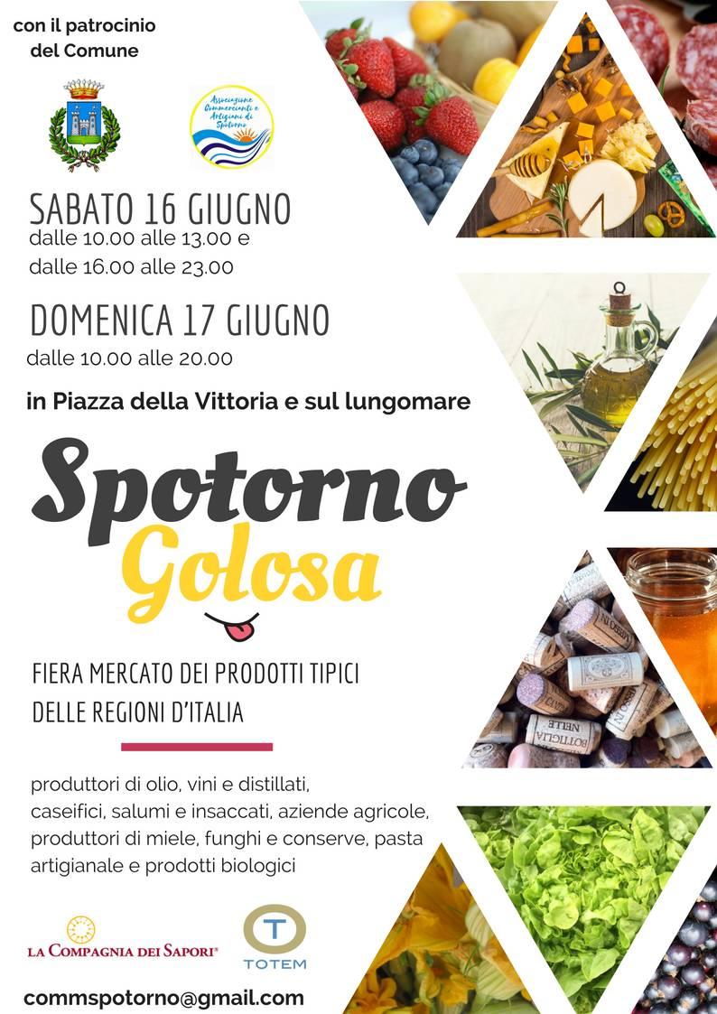 """Mostra mercato """"Spotorno Golosa"""""""
