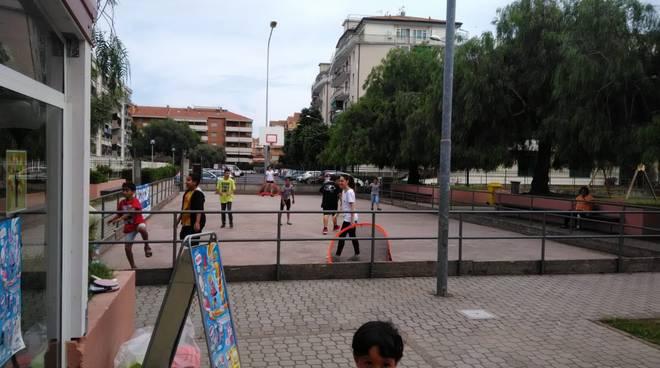 Parco giochi Peter Pan Decathlon Albenga