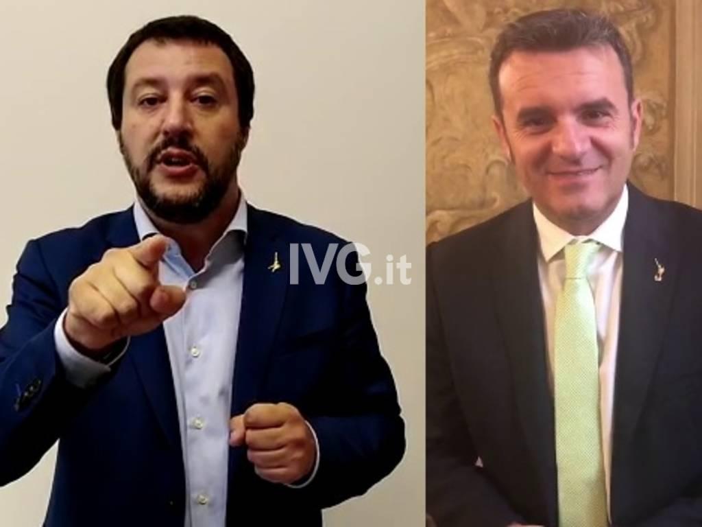 Matteo Salvini Marco Centinaio