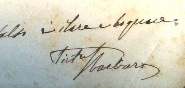 Manoscritto Pietro Sbarbaro