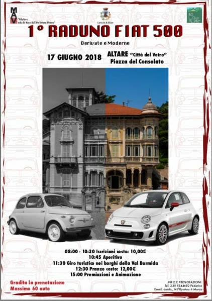 Raduno Fiat 500 Altare 2018