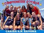 Rari Nantes Savona campione d'Italia