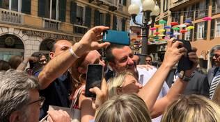 Salvini Ministro dell'Interno a Genova