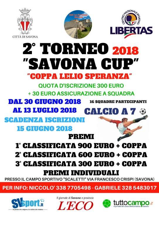 Savona Cup 2018