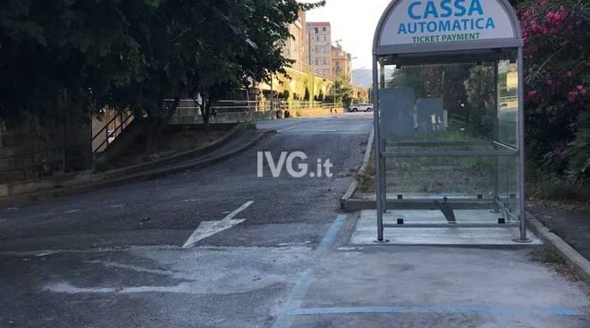 Savona, il parcheggio di via Saredo torna a pagamento