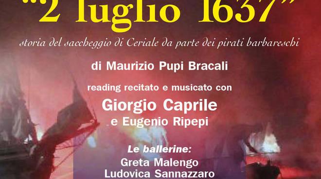"""Spettacolo teatrale """"2 luglio 1637"""" Ceriale"""