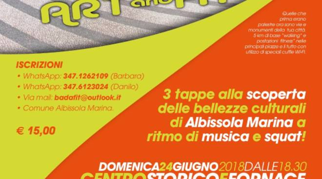 """Street Work Out"" giornata Art & Fit"