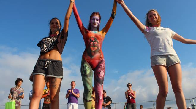 The Body - Festival Body Painting Andora