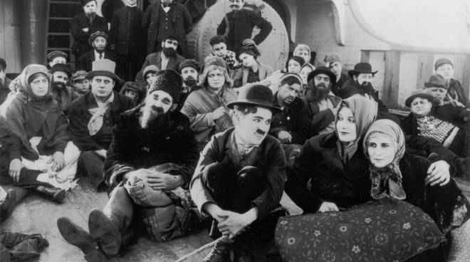 """The immigrant"" film Charlie Chaplin"