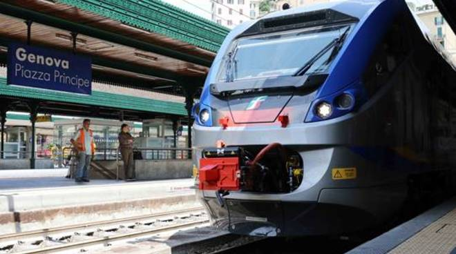 treno piazza principe