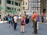 Turisti crociere con colombo