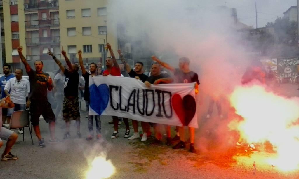 Ultras Vecchio Stampo, la festa nel ricordo di Claudio Bosano