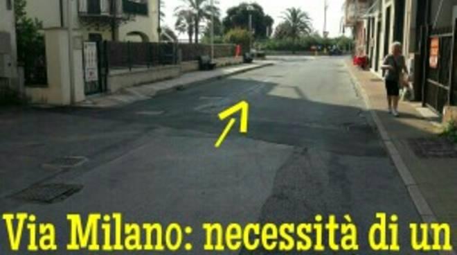 via Milano Pinee