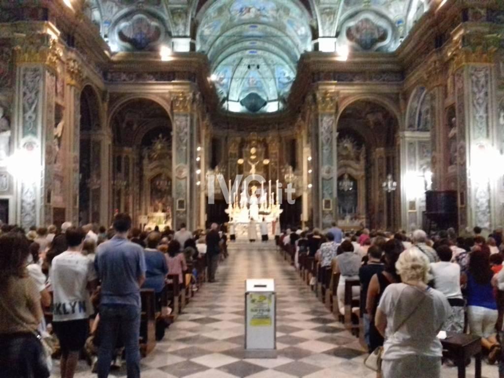 Adorazione per Marco Centino nella basilica di San Nicolò di Pietra Ligure