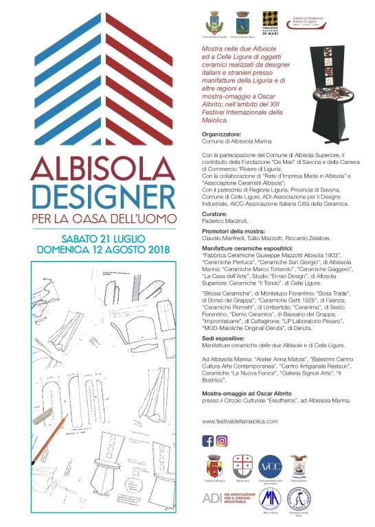 """""""Albisola e Designer per la casa dell'uomo"""""""