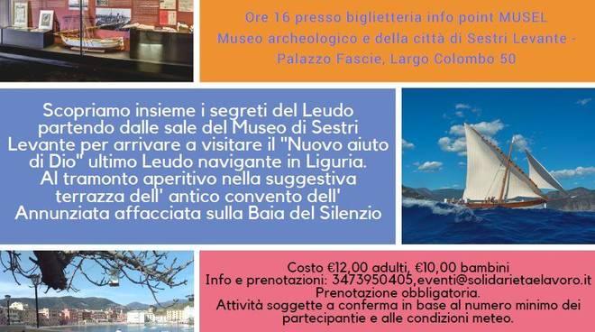 """""""Alla scoperta del Leudo"""" visita guidata e aperitivo"""
