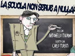 """Antonello Taurino """"La scuola non serve a nulla"""""""