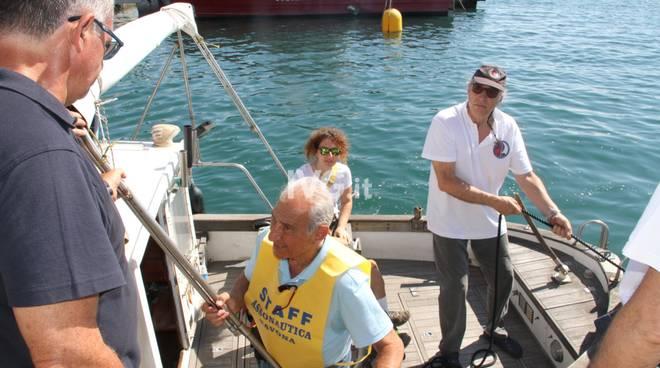 Assonautica e Aism Savona gita barca