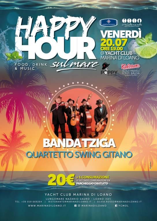 Banda Tziga Happy Hour sul Mare