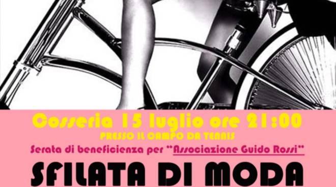 """""""Bellezze in Bicicletta"""" sfilata di moda Cosseria"""