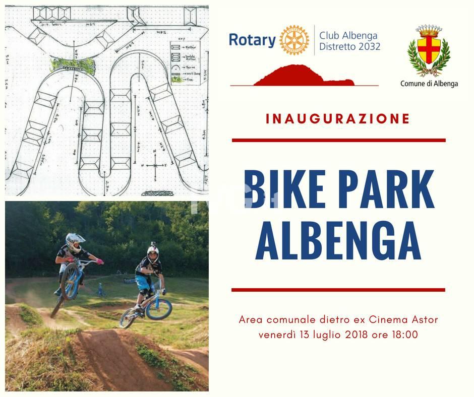 Bike Park Albenga locandina