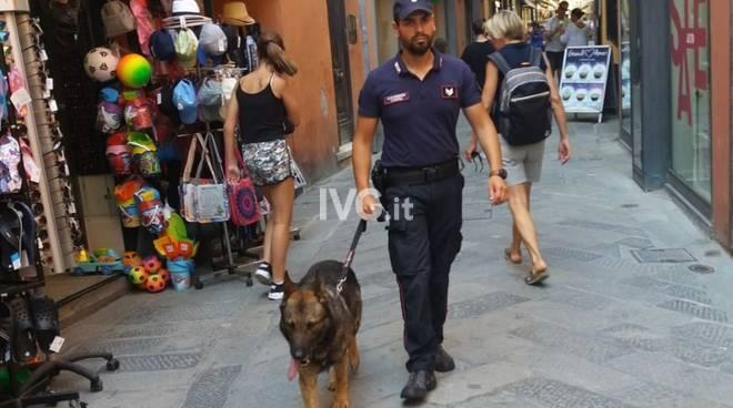 Carabinieri nucleo cinofili Alassio