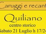 """Domani a Quiliano la manifestazione \""""Caruggi e Recanti\"""""""