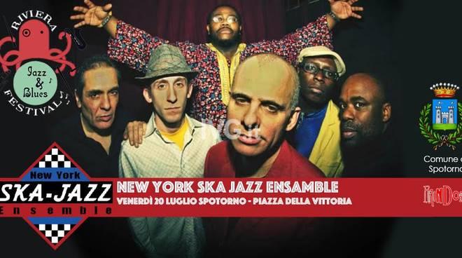 Stasera a Spotorno: New York Ska Jazz Ensemble at Riviera Festival