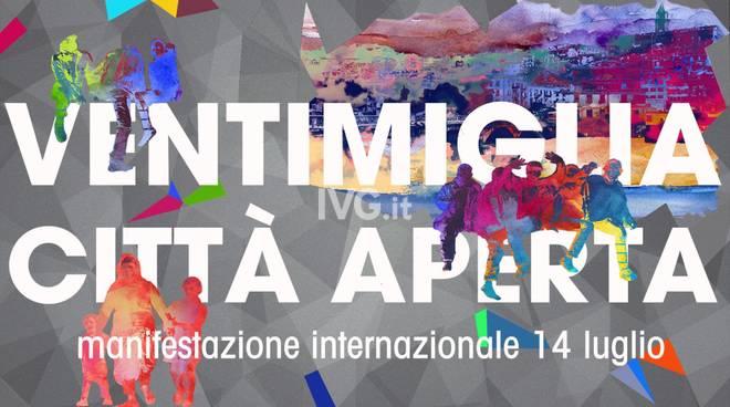 Ventimiglia città aperta: manifestazione internazionale il 14 luglio