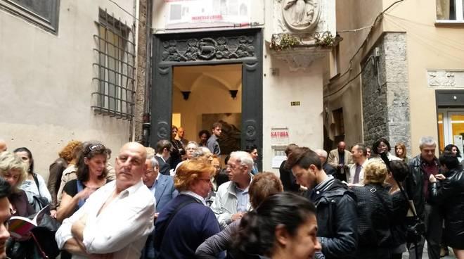 INAUGURAZIONE DEL SATURA INTERNATIONAL CONTEST NEL CARNET DI EVENTI DI SABATO 7 LUGLIO 2018 A GENOVA