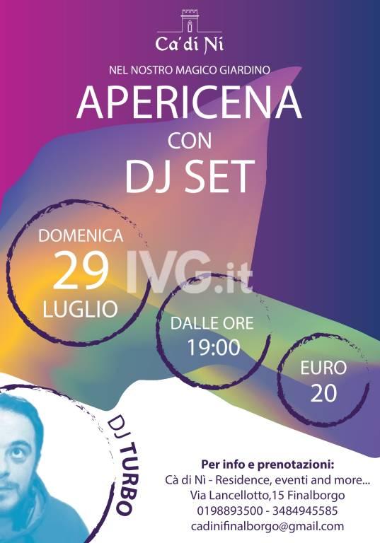 APERICENA CON DJ SET