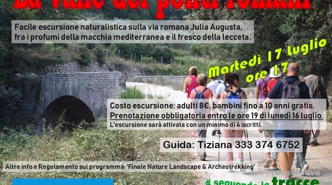 """Escursionismo nella \""""Valle dei Ponti Romani\"""""""